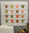 Tulip Quilt Wall Hanging
