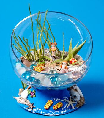 Craft A Kids Beach Terrarium