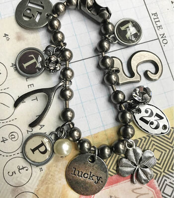 Make A Lucky Charm Bracelet