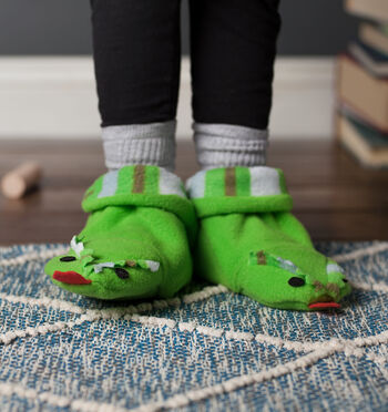 How to Sew Dragon Baby Booties
