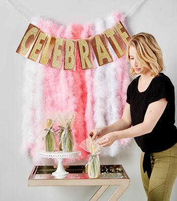 Make A Celebrate Boa Garland