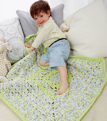 Big & Bright Granny Blanket