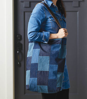How To Sew A Denim Shopper Tote