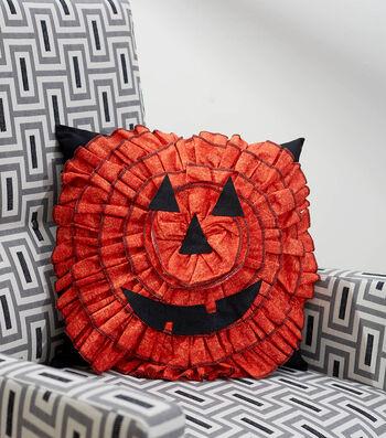 How To Make A Jack-o-Lantern Pillow