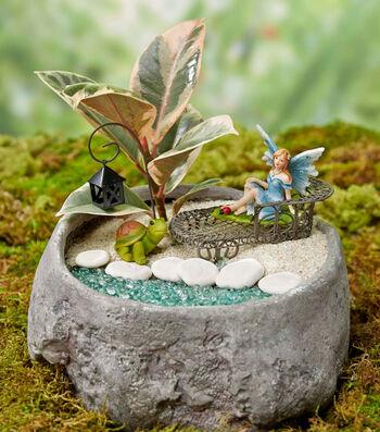 Rock Fairy Garden