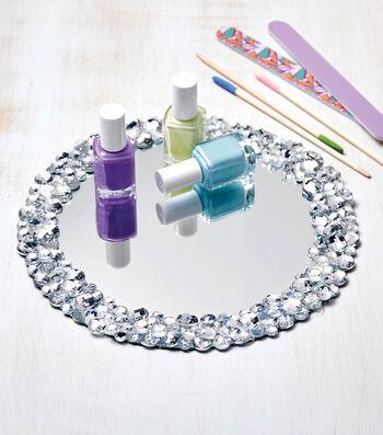 Make A Jeweled Mirror