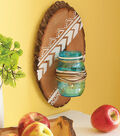 Wood and Ball Jar Sconce