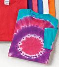 Circlular Tie Dye Shirt