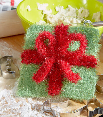 How To Make A Wrap It Up Gift Scrubby