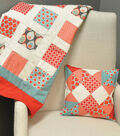 Cheerful Quilt and Scrappy Pillow