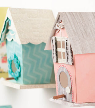 FREE Paper Birdhouse Project