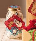 Snowman Soup Mason Jar