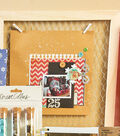 Christmas Page in Chicken Wire Frame