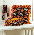 Browns Pillow, Blanket and Scarf Set