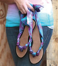 Trendy Toes Scarf Sandals