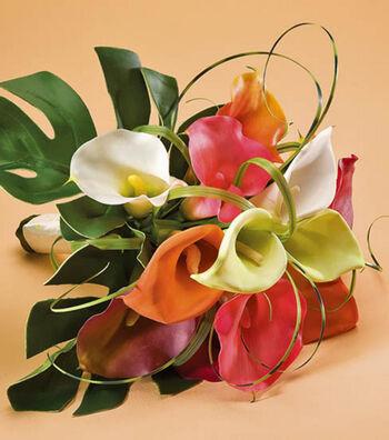 Colorful Calla Lily Bouquet