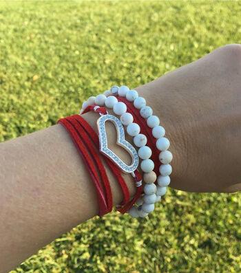 How to Make A Leather Love Wrap Bracelet & Choker