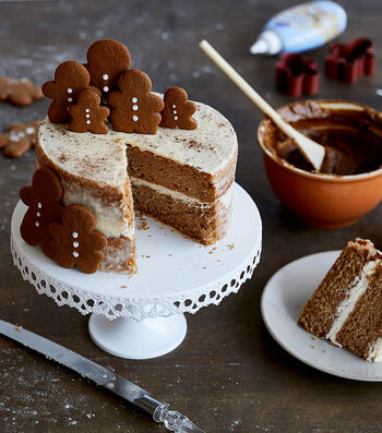 How To Make A Gingerbread Man Naked Cake