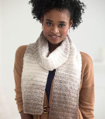 Easy Crocheted Scarfie
