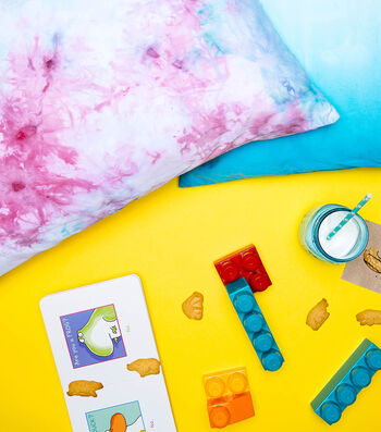 How To Make Ice-Dyed Pillowcase