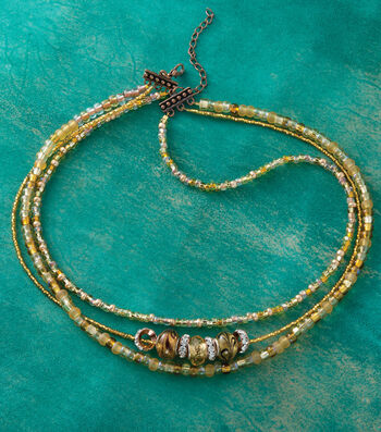 Make a Beaded Layered Necklace