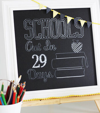 Chalkboard Countdown to the Last Day of School