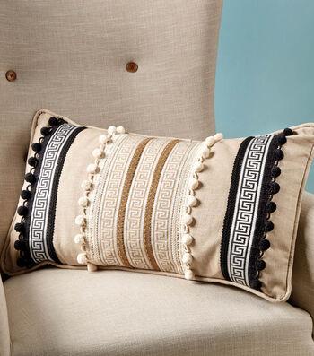 Make Home Dec Pillows With Trim