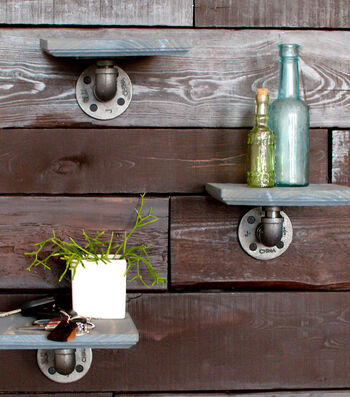 How To Make A Pipe Décor Small Shelf