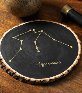 How To Make An Astrology Sign Wood Disc