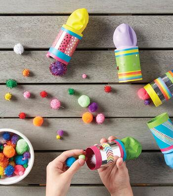 Make Pompom Launchers