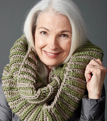 How To Make A Brioche Accent Knit Cowl