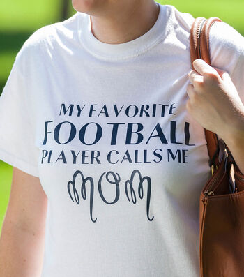 How To Make A Football Mom T-Shirt
