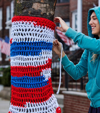 How To Make A London Kaye Americana Tree Wrap