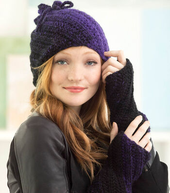 How To Crochet A Concord Hat and Wrist Warmers