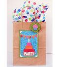 David Tutera Celebrate Card:  Party Gift Bag and Tag