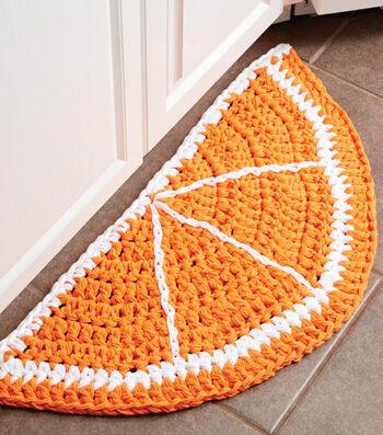 Make A Citrus Slice Crochet Rug