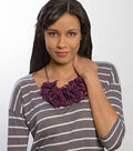 Sheer Petal Bib Necklace