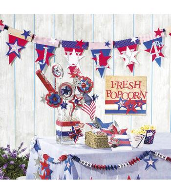 Fourth of July Floral Arrangement
