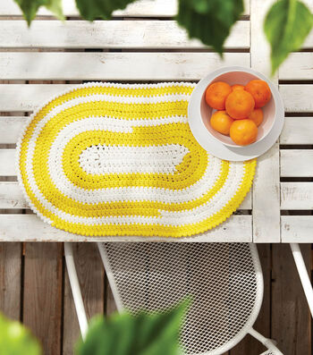 How To Make A Crochet Patio Placemat