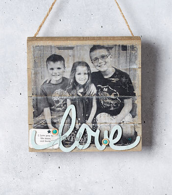 How to Make a Photo Transfer Pallet