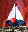 Sailboat Dishcloth
