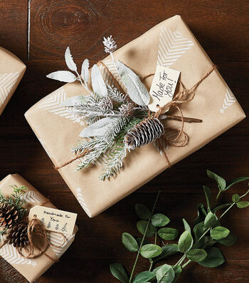 How To Make Holiday Craft Paper Wrapped Presents