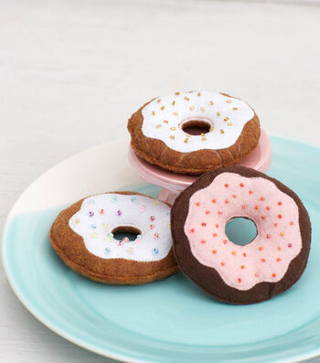 How To Sew No Calorie Donuts