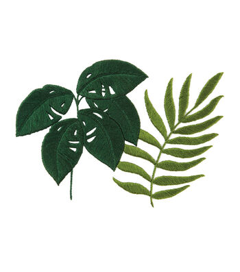 How To Make Monstera & botanical fern Embroidery