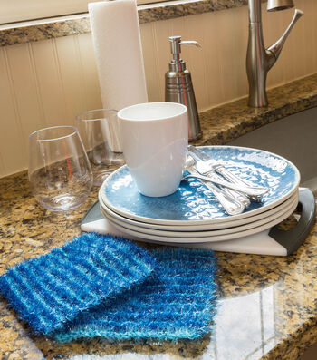 How To Make A Striping Sparkle Scrubby