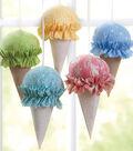 Fabric Ice Cream Cones