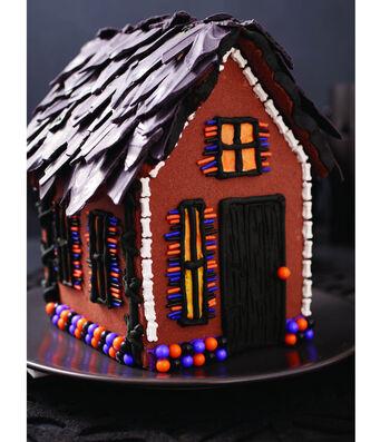 Haunted Halloween Cookie House