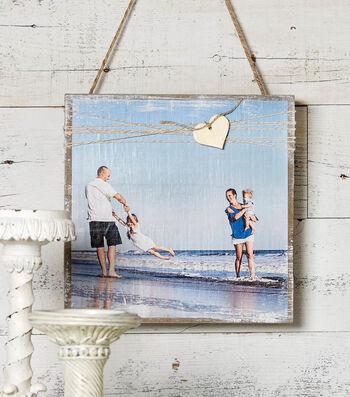 How to Make a Beach Photo Pallet