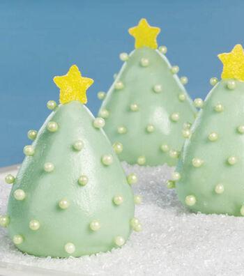 Shining Bright Christmas Tree Cookies