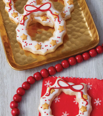 How To Make DIY Wreath Christmas Cookies